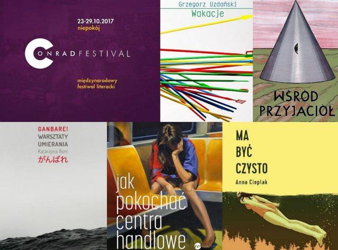 z22455685V,Ksiazki-nominowane-od-Nagrody-Conrada-2017